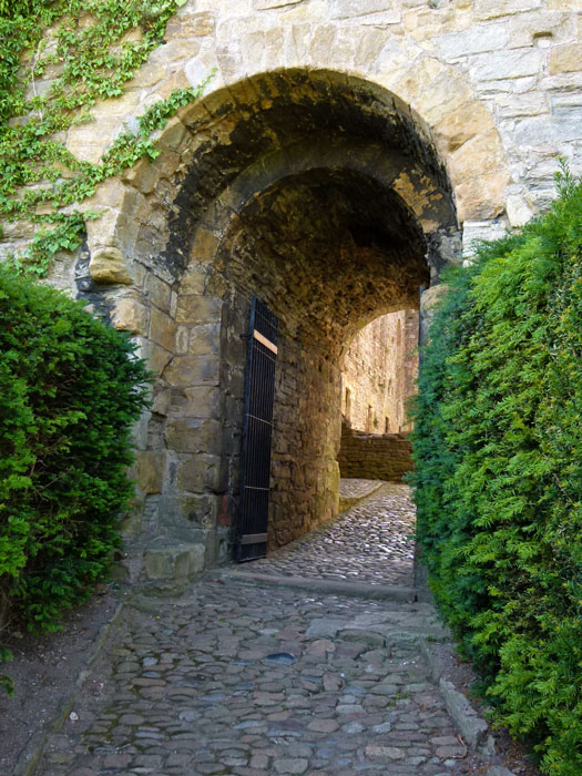 Richmond Castle - gateway to the Cockpit.