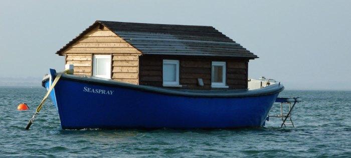 Shed boat, Blakeney