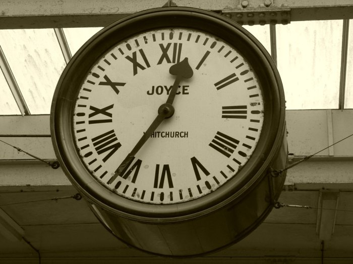 Brief Encounter, clock, Carnforth, David Lean