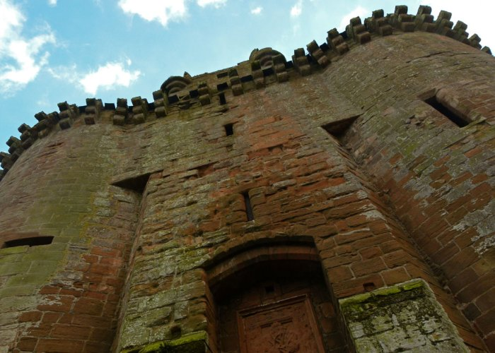 Caerlaverock, about Britain, gatehouse