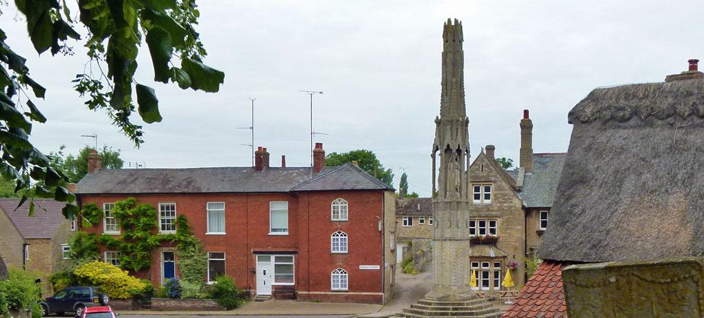 Geddington's Queen Eleanor Cross