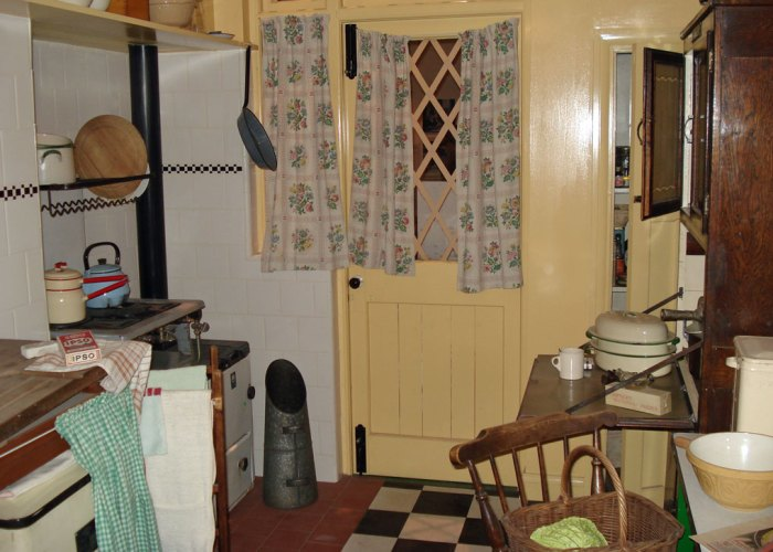 1940s house, IWM London (not sure if this exhibit is still there).