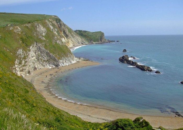St Oswald's Bay and Man O'War Beach, Dorset