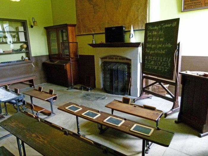 Victorian classroom, Sudbury Museum of Childhood