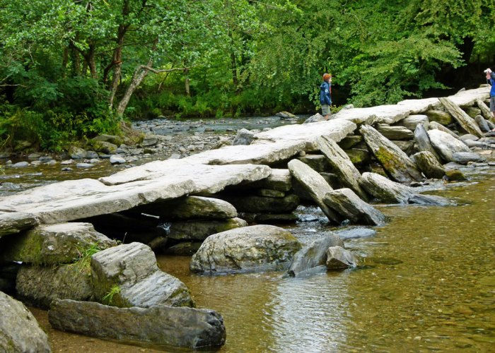 Tarr Steps, Somerset, Exmoor National Park