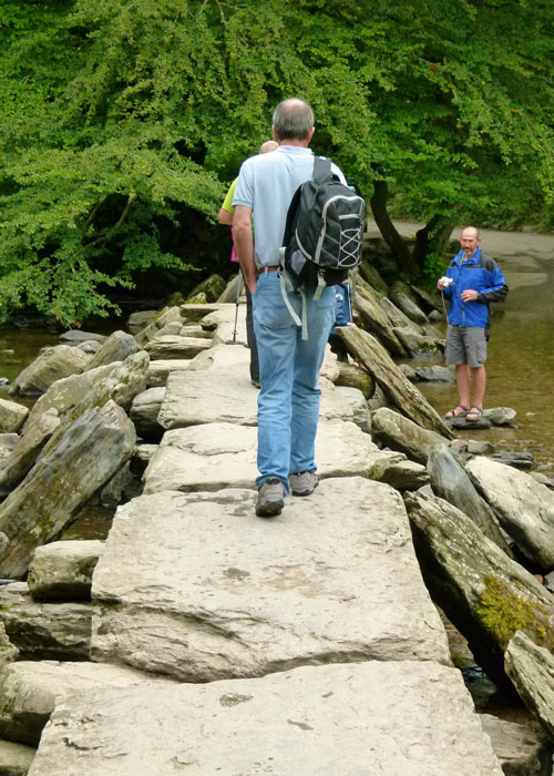 Tarr steps, Somerset, Exmoor National Park