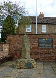 Monument commemorating the Battle of Stamford Bridge