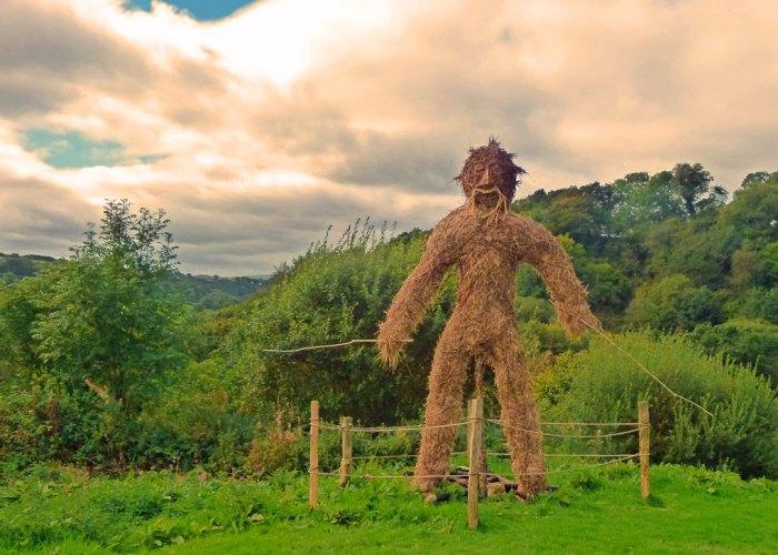 Wicker Man, Castell Henllys, Wales