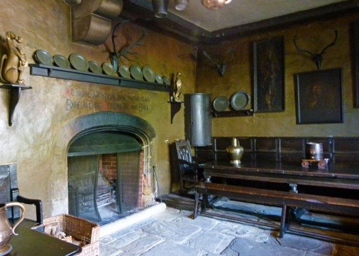 Chirk Castle, servants' hall