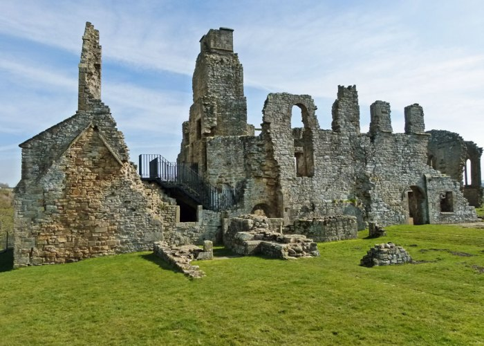 Egglestone Abbey, east range, dormitory