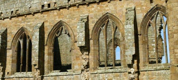 Egglestone Abbey, ruined abbey church