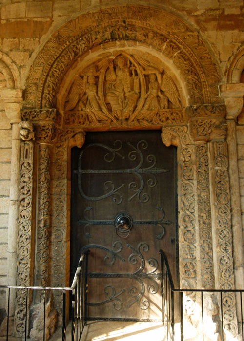 Ely, 12th century Prior's Door