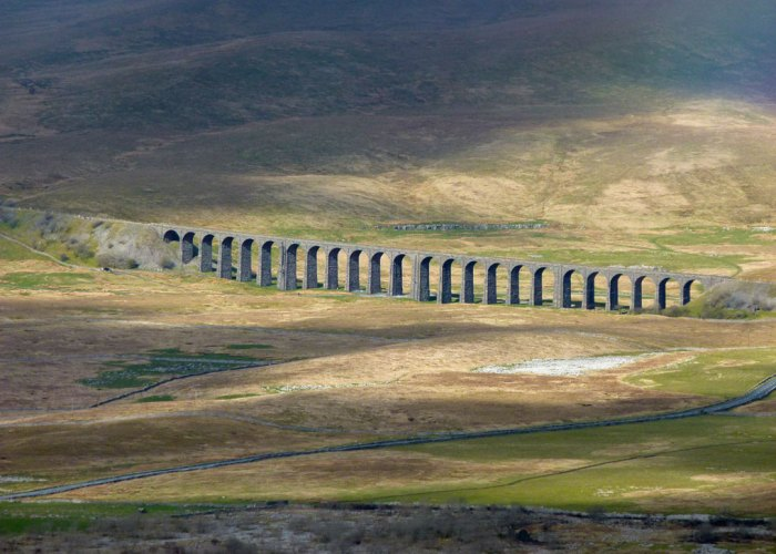 Great view of Ribblehead Viaduct