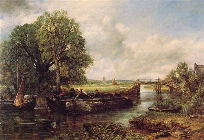 View on the Stour near Dedham (1822)