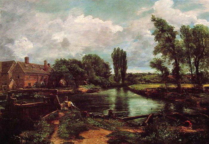 Flatford Mill from the Lock