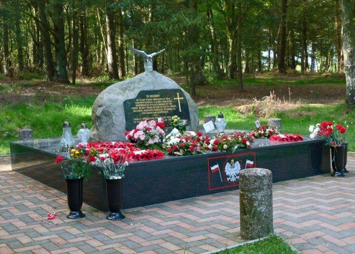 Katyn memorial, Cannock Chase