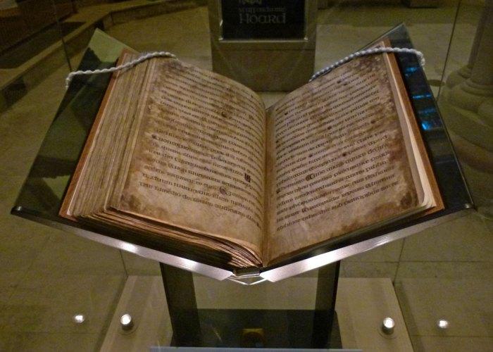 Chad's gospels, Lichfield