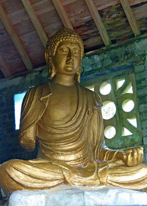 Portmeirion, Buddha