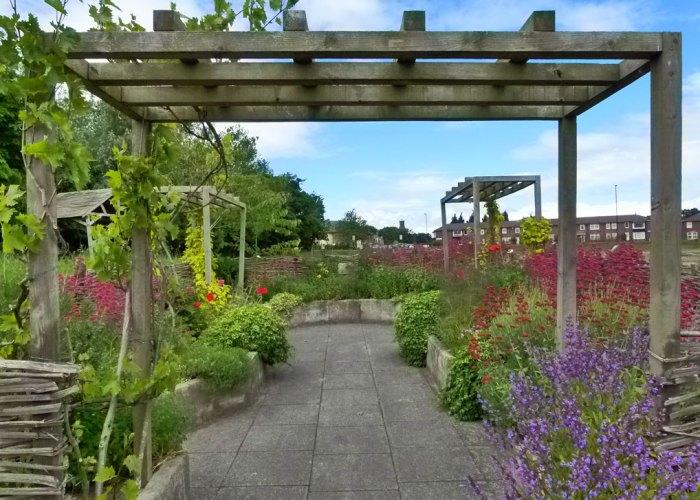 Roman garden, Segedunum, Wallsend