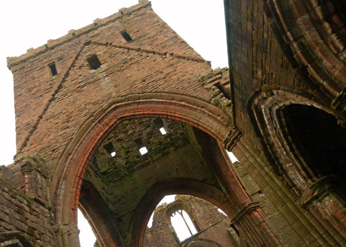 Sweetheart abbey, Dumfries, Dervogilla