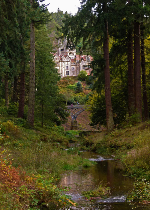 Cragside, W G Armstrong's house near Rothbury, Northumberland