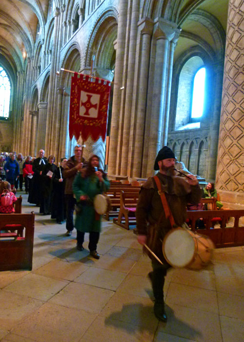 St Cuthbert' procession, feast day