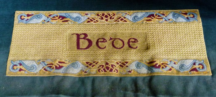 Bede's kneeler, Durham Cathedral