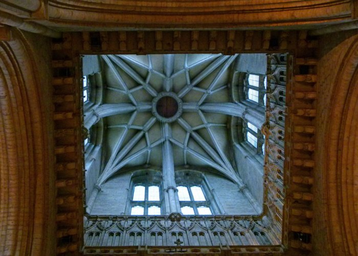 Ceiling over the crossing, Durham Cathedral