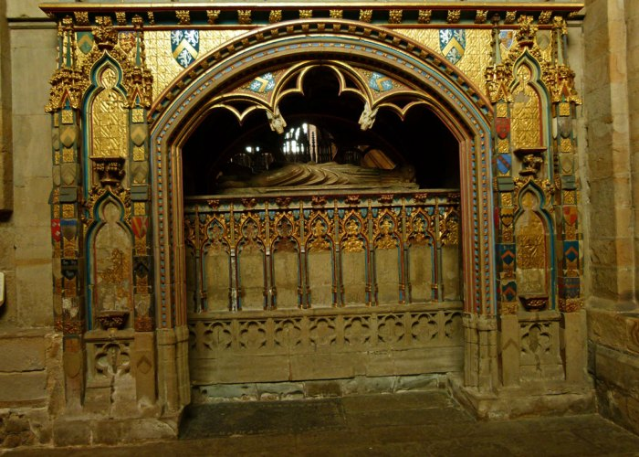 Tomb of Bishop Thomas Hatfield