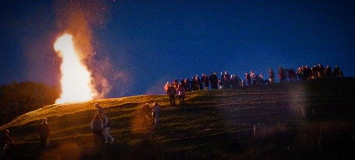 Samhain, bonfire, Halloween