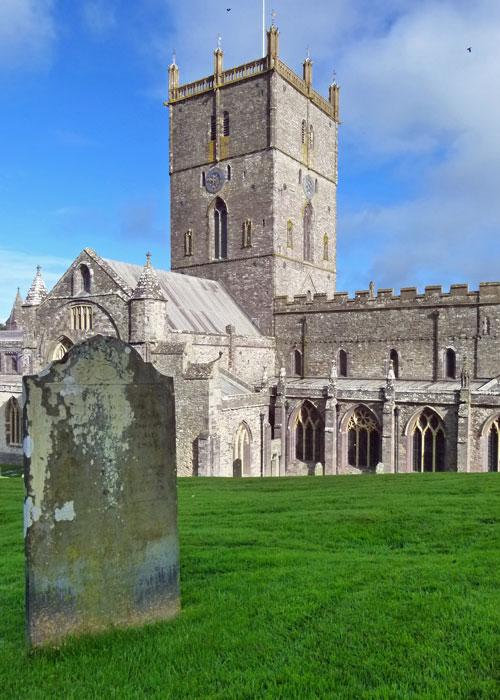 St Davids Cathedral, St Davids, Pembrokeshire
