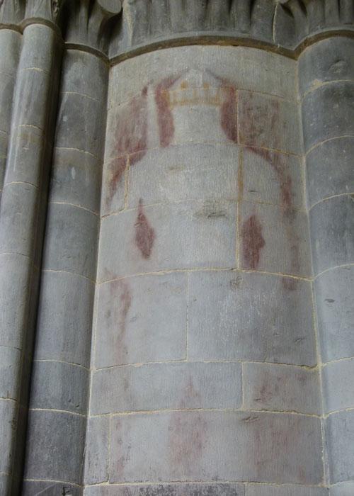 Ghostly image, St Davids, Henry IV