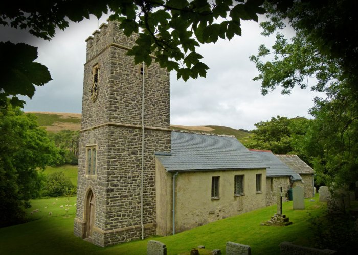 St Mary's Church, Oare, Exmoor, Somerset
