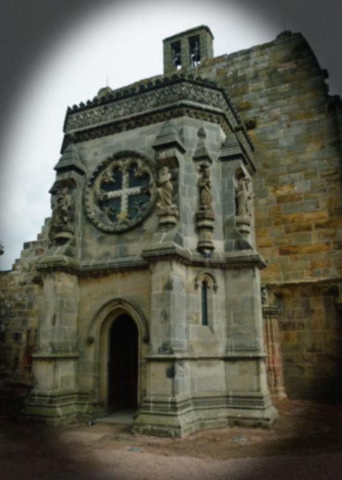 Rosslyn Chapel, baptistry