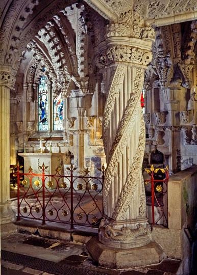 Rosslyn, Apprentice Pillar