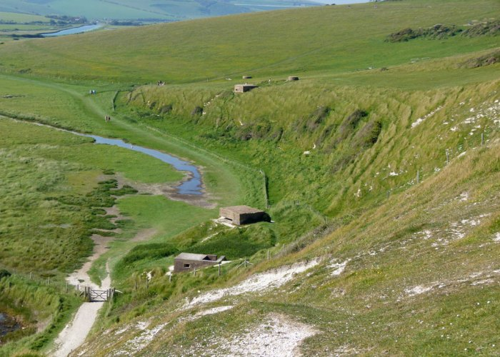 Pillboxes on the south coast of England, Cuckmere, East Sussex
