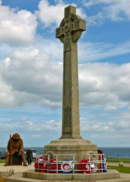 Tommy, War Memorial, Seaham, Co Durham