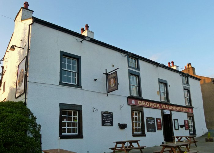 The George Washington pub, Warton, Lancashire