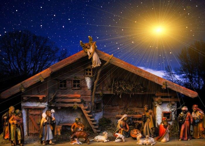 The nativity, Christmas