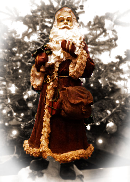 A Bit About Britain, Father Chrtistmas, Christmas magic