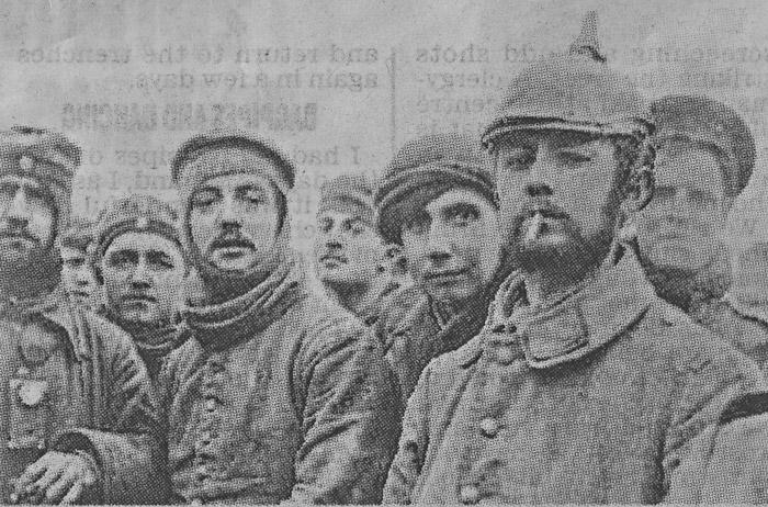 Christmas Truce, Ploegsteert, 1914