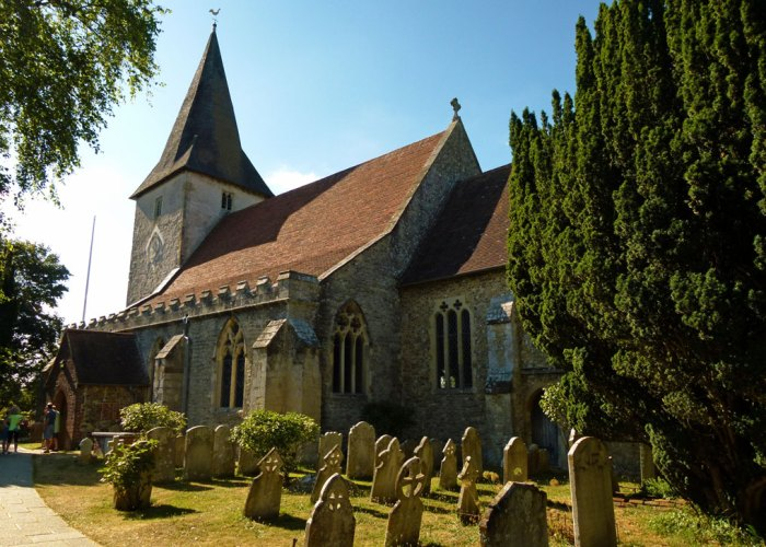 Saxon, Holy Trinity, Bosham, church, Sussex