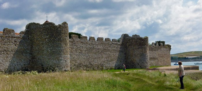 Portchester Castle, barbarian invasions, Anniversaries, 2017