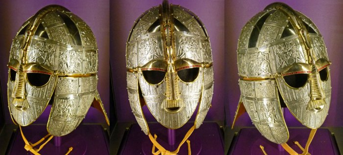 Replica helmet, Sutton Hoo