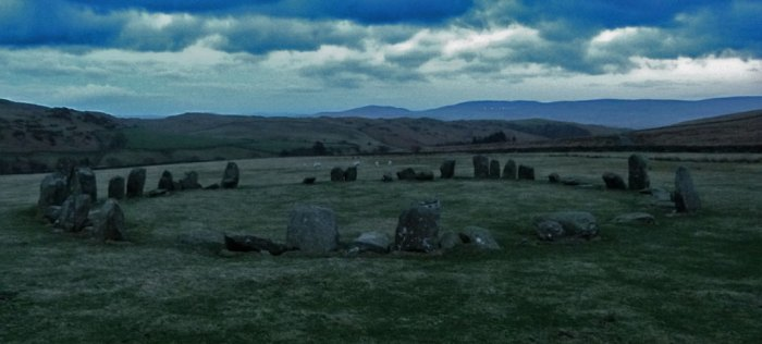 Swinside Stone Circle, Cumbria , winter