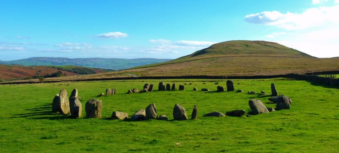 Swinside Stone Circle, Broughton in Furness, Cumbria
