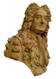 Sir Hans Sloane, British Museum, bust