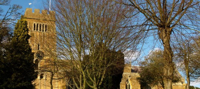 Earls Barton, our finest Saxon church tower