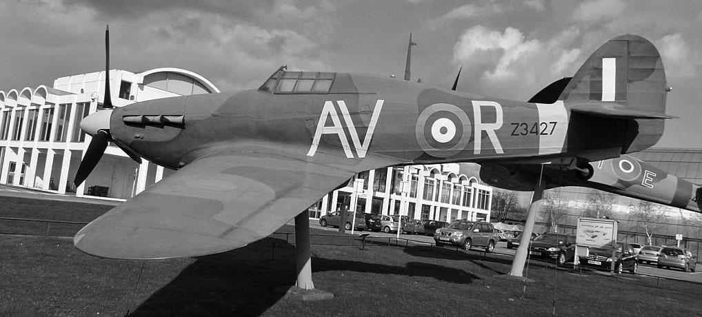Hawker Hurricane, RAF Museum, Hendon