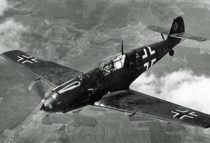 MeBf109, aircraft, WW2